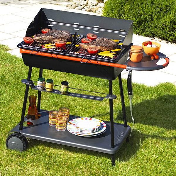 Barbecue À charbon 15 personnes somagic qooka a700