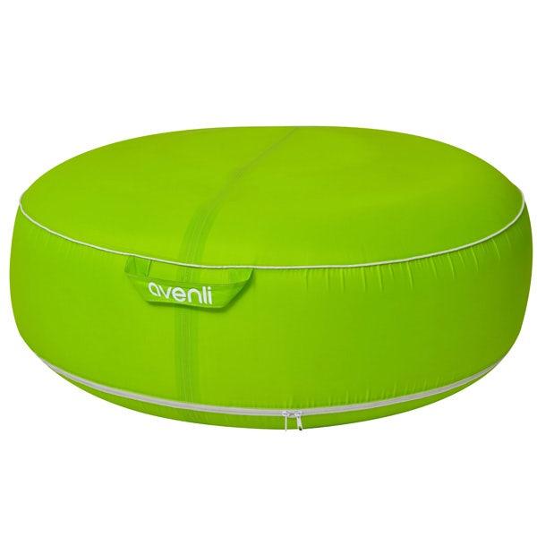 Pouf D'extérieur gonflable coloris vert - 98 cm